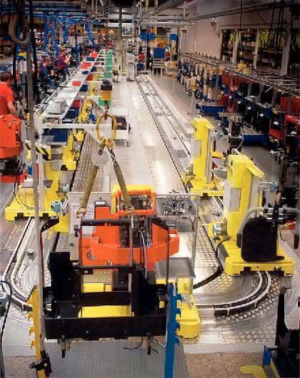 Carriersystem CS 2000: Schwere Güter  leicht transportiert