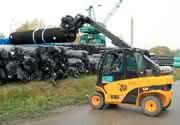 Gegengewichtsstapler: Vier Meter lange