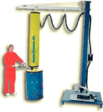 Vakuum-Schlauchheber: Per Knopfdruck  von A nach B