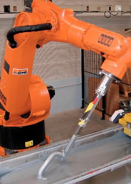 Werkstoffe: Der Schutz großer Teile