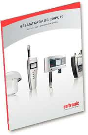 """Katalog """"Feuchte- und Temperaturmessung 2009/2010"""": Ein starkes Stück Swissness"""
