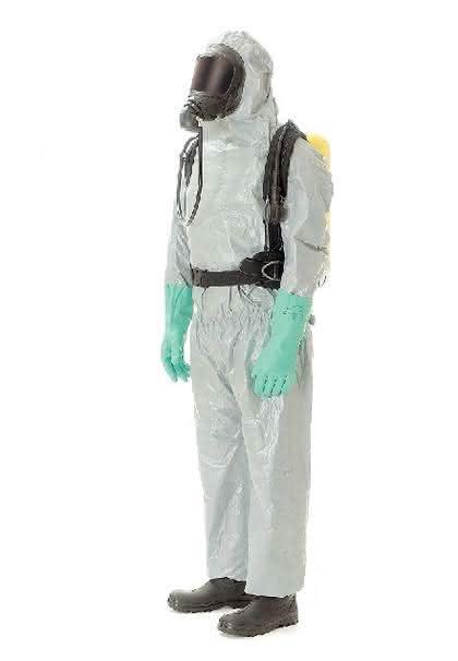 Chemikalienschutzanzug: Der hübsche Ben Afflek