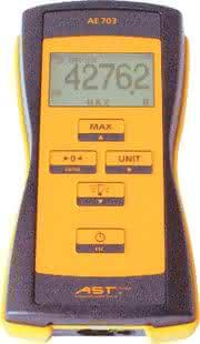 Mobile Kraftmessung AE 703: Druck oder Zug