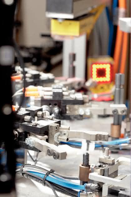 Industrieroboter: Alles im Griff