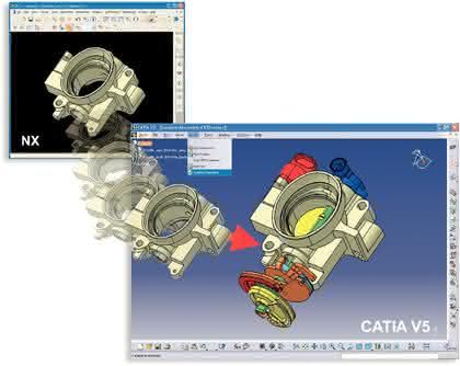 Märkte + Unternehmen: Fremddaten in Catia V5 nutzen