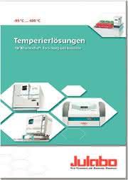 JULABO-Katalog 2009/2010: Temperierlösungen
