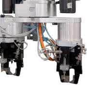 Winkelgreifer GG1000: Packt den  Zylinder
