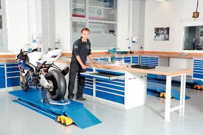 Werkstatteinrichtung Typ R 3000: Hier herrscht  Ordnung