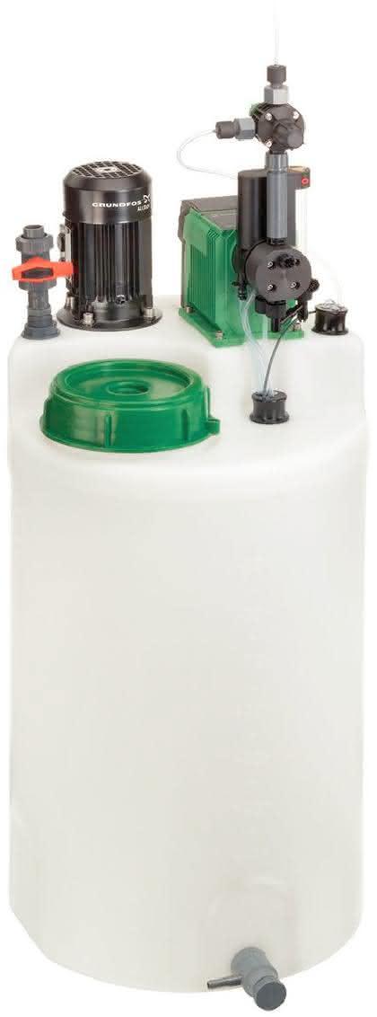 Behälter-Dosierstationen: Sahnehäubchen auf Torten