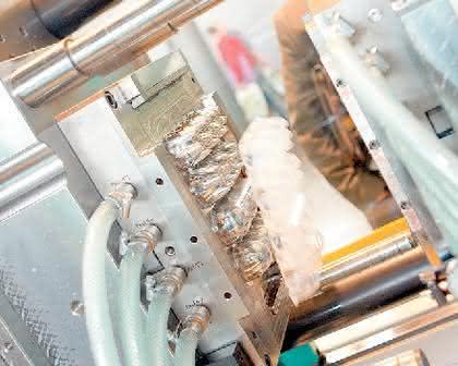 Eierbox: Eierverpackung  aus Kunststoff