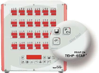 Heißkanalregler mit Wire Test: Heißkanalregler mit  automatischem Kabeltest