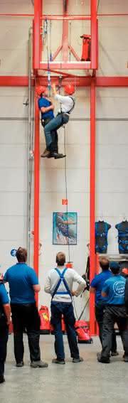Absturzsicherung: Höhenangst