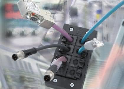 Kabelmehrfacheinführung: Ohne Gleitmittel