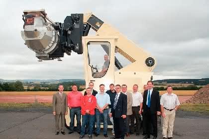 Schwerlaststapler mit Teleskoparm: Stapler für Gießereien