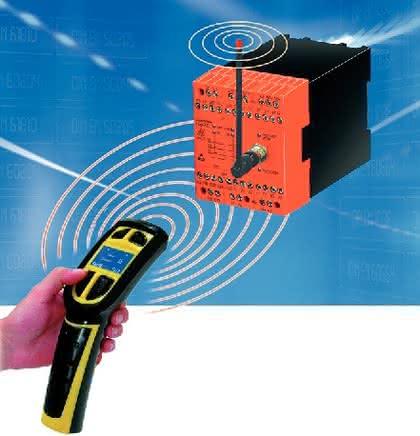 Funk-Zustimmtaster: Durchdrücken oder loslassen