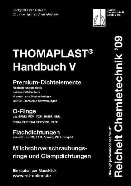 Handbuch THOMAPLAST-V: Premium-Dichtelemente