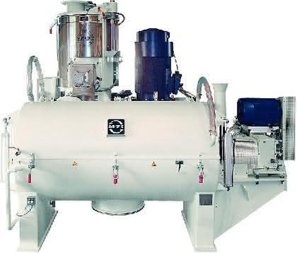 Eco-line Heiz-/Kühlmischer: Dryblend wirtschaftlicher produzieren