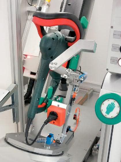 Toptex 5000: Laserbeschriftung von Elektrowerkzeugen