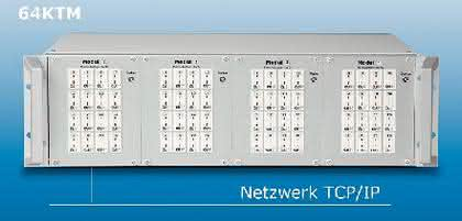 Temperaturmesssystem 64KTM: Vielkanalige Temperaturmessung