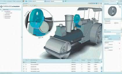 Datenanalyse: 3D-Ersatzteilkataloge mit 3DVia