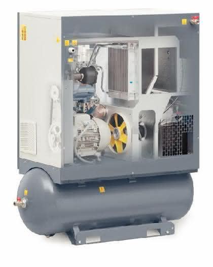 Schraubenkompressoren: Kleine Kompressoren