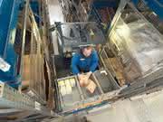 Material handling: Shuttle im Kanal