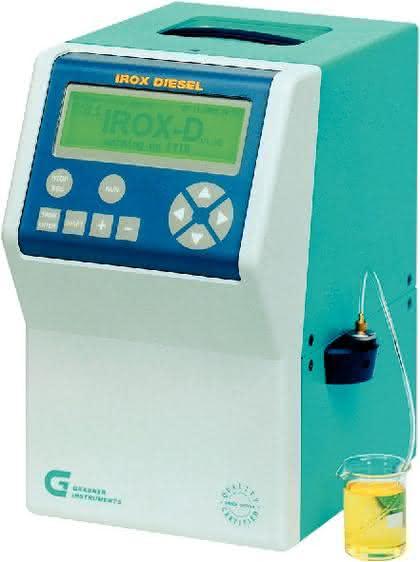 Kraftstoffanalysegerät IROX: Rasche und exakte Analyse von (Bio-)Treibstoffen
