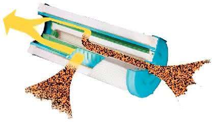Hydraulikfilter: Hohe  Schmutzaufnahmekapazität