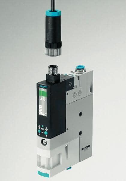 Vakuumsaugdüse: Mit integrierter Luftsparfunktion
