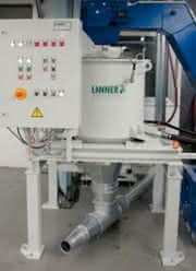 Zentrifugen für Kunststoffverarbeitung: Schleifschlamm  wirtschaftlich nutzen