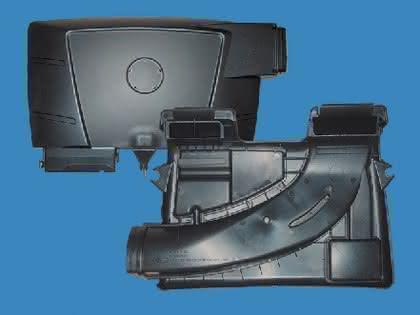Komponenten Automobilindustrie: PP-Sekundärrohstoffe  im Ansaugtrakt