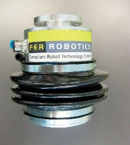Schwerpunkt Automatica: Roboter mit Gefühl