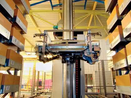 Lagertechnik: Automatik im Flugzeug-Lager