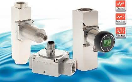 Analogtransmitter für Schwebekörper-Durchfluss-Sensoren: Sensor-Transmitter-Kombination