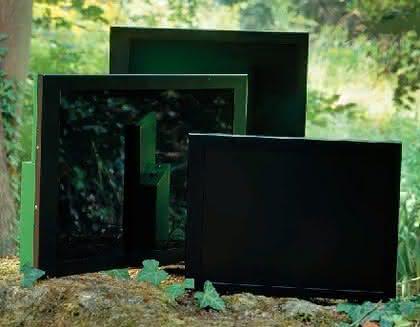 Open-Frame-Monitore: Grün soll sie sein
