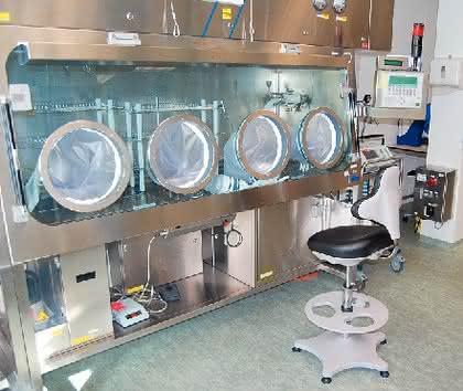Arbeitsschutz: Der erste echte  Laborstuhl der Welt