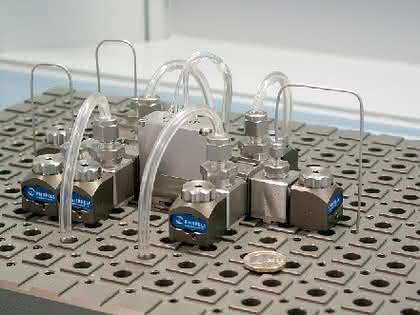 Micro-Components: Kooperation in der Mikroreaktortechnik