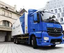 Transporter: Emissionsfrei im Schwabeländle: eActros im Test