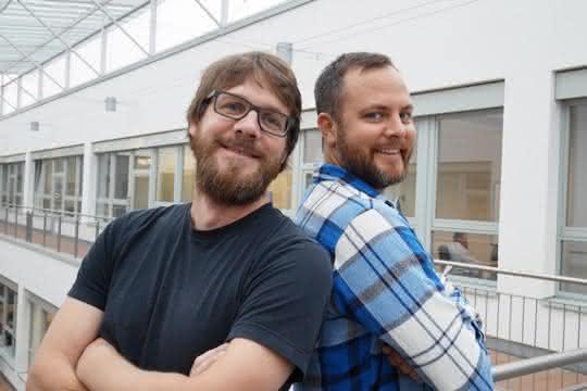 Wissenschaftler des Helmholtz Zentrums München: Dr. Dominik Lutter (links) und Dr. Kenneth Dyar.