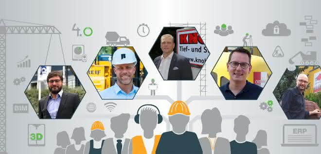 Auf den BRZ-Impulstagen berichten Bauunternehmer, wie sie den Einstieg in die digitale Welt geschafft haben.