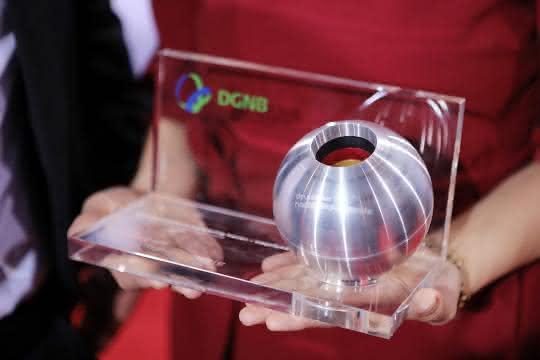 """Wer den DGNB-Preis für """"Nachhaltiges Bauen"""" erhält, wird im Rahmen der Preisverleihung am 7. Dezember in Düsseldorf bekanntgegeben."""