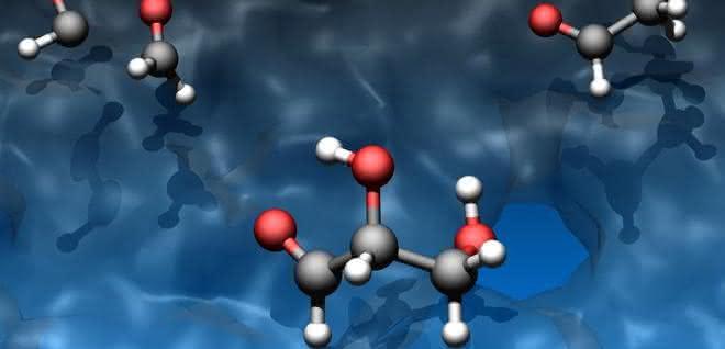 Grafik zu den Reaktanden Hydroxymethylen und Formaldehyd