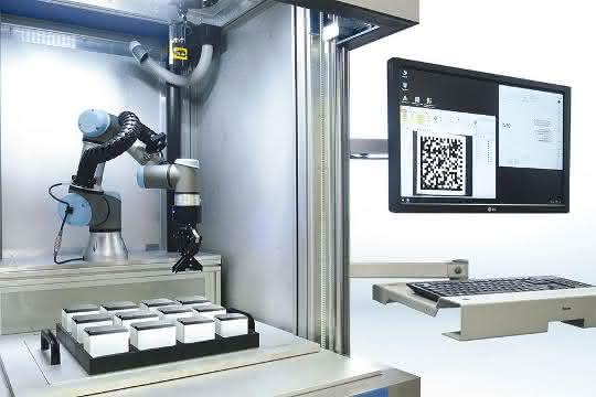 Highlight der Woche: Robotergestütztes Lasermarkiersystem