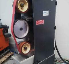 Freiband-Kontaktrollenschleifmaschine 250/450 von SHL