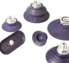FIPA Flach-, Balgen- und Ovalsauger aus hochverschleißfestem, LABS- und silikonfreien NBR