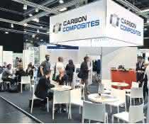 Messestand Carbon Composites e.V.