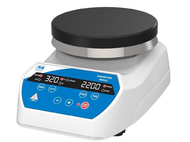 Magnetrührer digital MSH 10 mit Heizplatte