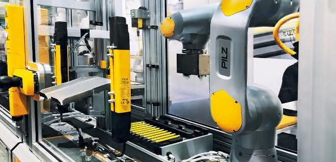 Pilz-Robotik