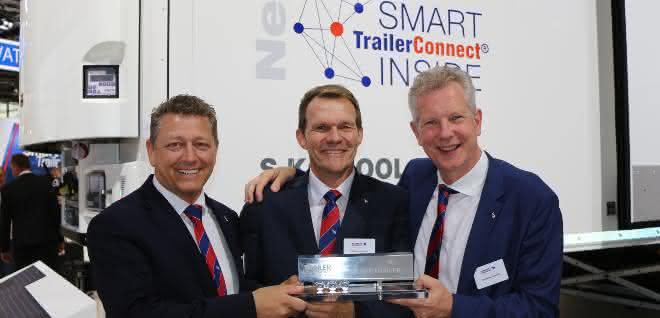 "Schmitz Cargobull gewinnt ""Trailer Innovation 2019"""