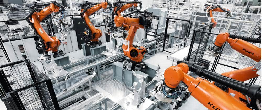 Kuka-Roboteranlage